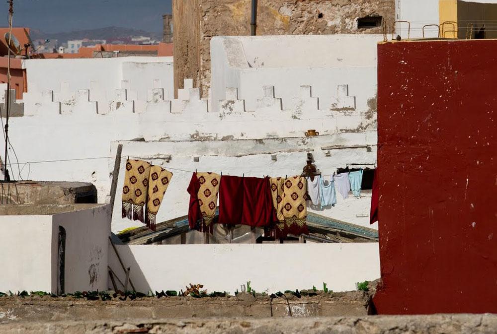 Maison marocaine lors du voyage au Maroc pour déficients visuels