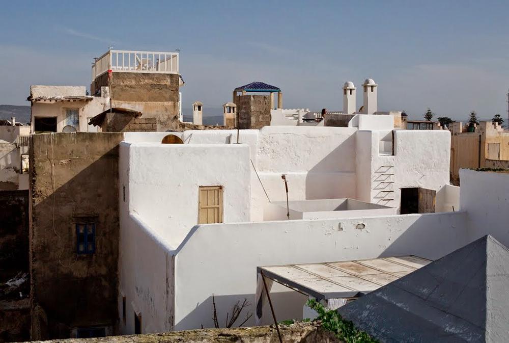 Maisons marocaines lors du séjour en famille entre Atlas et océan