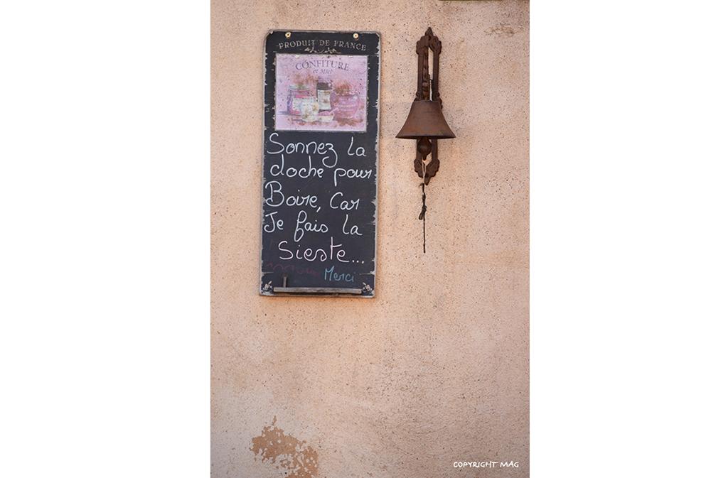 Message accueillant en Cévennes