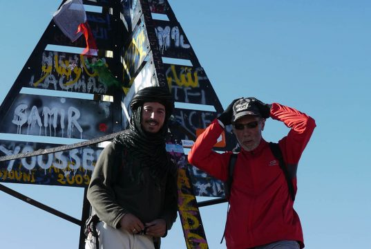 Voyageur et Ahmad