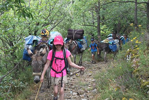 Itinerance avec nos ânes Azimut Voyage 16