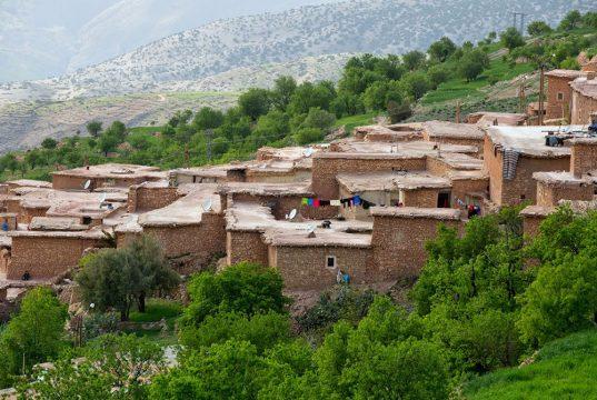 village berbère lors du voyage au Maroc pour déficients visuels