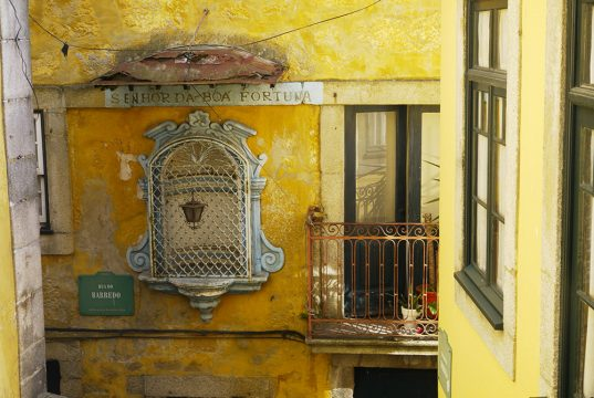 Détail d'une façade à Porto