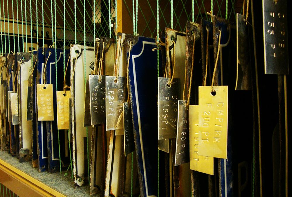 Carreaux du Portugal, les azuleijos, au musée de l'azuleijos, à Porto