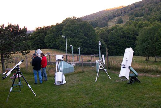 Séjour astronomie dans les cévennes, Réserve internationale de ciel étoilé