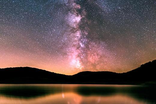 Lac des pises, séjour astronomie dans les cévennes