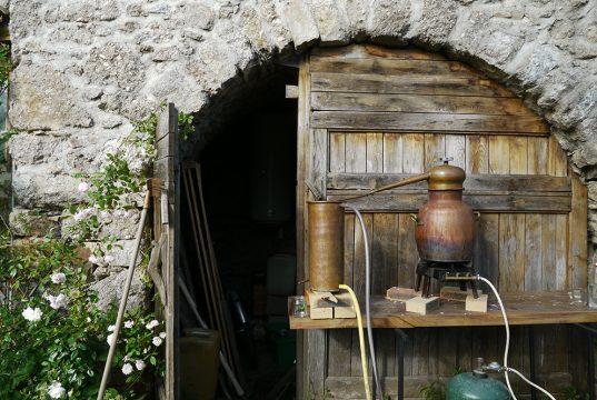 Alambic pour distiller des potions magiques