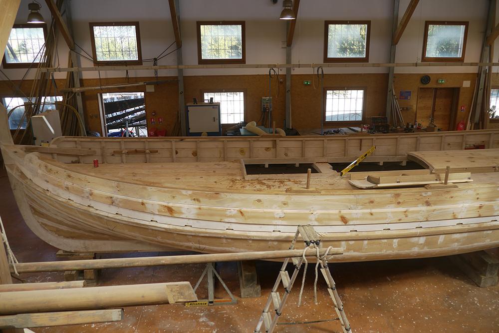Atelier de construction de barques, Anse de Paulille